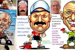 SYNTYMÄPÄIVÄLAHJA-50-VUOTISLAHJA-30V-40V-60V-LAHJAKSI-KARIKATYYRI-MUOTOKUVA-valokuvasta-karikatyyri-hinta-170e