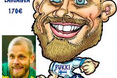 muotokuva-karikatyyri-valokuvasta-teemu-pukki-suomi-huuhkajat-jalkapallon-em-football-2020-pilapiirros-pilakuva-finland-karikatyyrit-muotokuvat-jorma-lampela