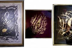 Nuottiavain-koristemaalauksia-ornamentteja-ornament-art-kuvataide-sisustus-sisustustaide-upeat-taulut-lahjaidea-lahjaidea-50v-lahjaksi-60v-lahjaksi-muusikolle-lahjaksi