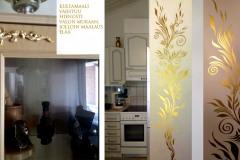 asuntojen-entisöinti-maalaus-koristelu-kultamaalaus-huonekalujen-koristemaalaukset-barokkityyli-lehtikultaus