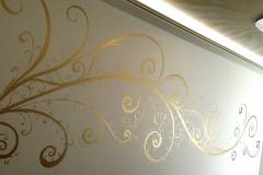 seinämaalaus-ornaments-kultaus-lehtikulta-taidemaalari-kuvittaja-kuvitukset-tribaali-koristemaalari-jorma-lampela-helsinki-seinäjoki-tampere