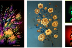 taidemaalaukset-kukka-asetelmat-kuvataide-maalaustaide-art-maalaukset-karikatyyri