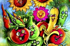 karikatyyri-kuvitus-maalaus-karikatyyrit-maalaukset-kuvitukset-syntymäpäivälahjaksi