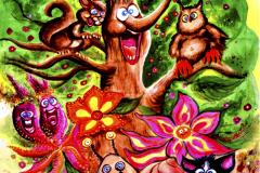 kuvitus-maalaus-isoon-tilaan-kuvitukset-satu-kuvitukset-eläin-kuvitus-logo-kirjankuvitus-lasten-kuvitus-kuvittaja