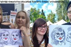 karikatyyripiirtäjä-riemastuttaa-yritysjuhlat-synttärit-firman-juhlat-yksityisjuhlanumero-ohjelmanumero-juhliin